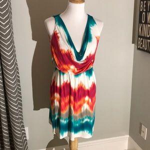 Tart tie-dye dress